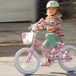 Sophie is a Bike Rider
