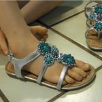Mackenzie's own flip flops.