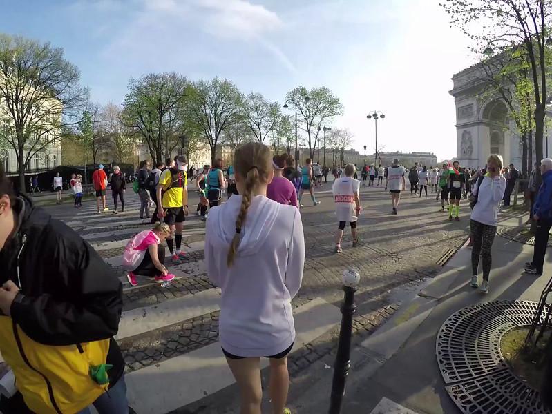Paris Marathon with Marni and Meghan