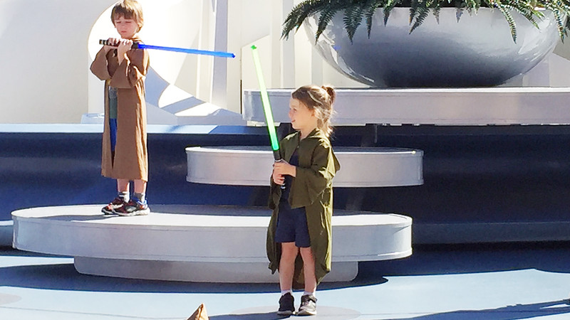 Jedi Training at Disney