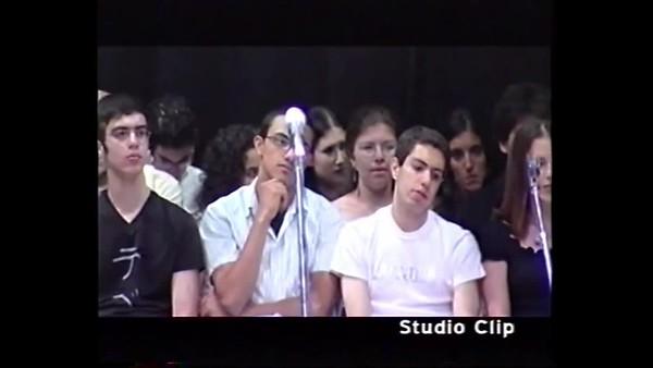 Yuval tekes siyum Masortichon 2003 יובל טקס סיום מסורתיכון