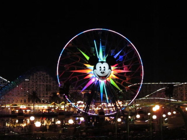 Ferris Wheel at Disney's Californian Adventure.