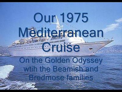 Mediterranean Cruise 1975