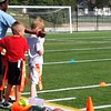 More flag football. Touchdown!