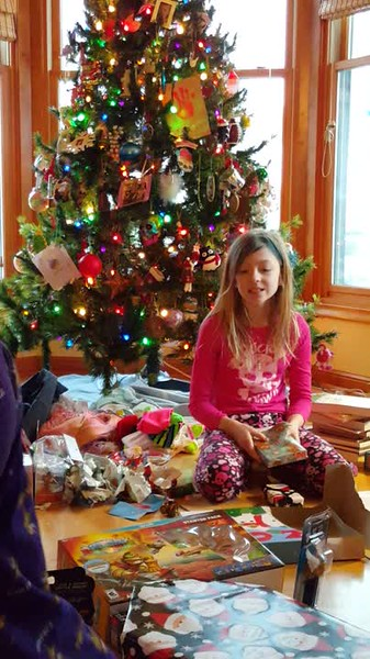 Lots of presents.... The Grand Finale.