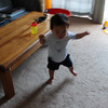 I can walk! - August 18, 2012 (H at 17 months).