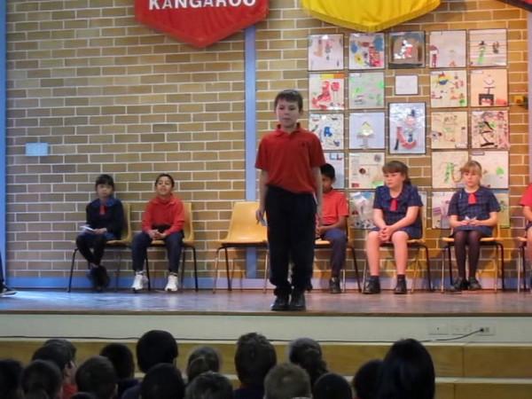 Declan's Speech at school