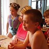 Cousins singing to Nana.<br /> Lila, Sophie, Nana, Mason and Will.