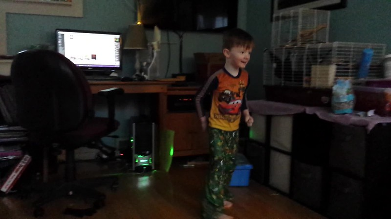 Mason and Lila dance to one of their favorite songs. Ages 4.5 and 7.5.