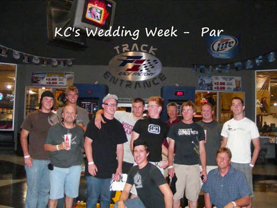 KCs Wedding Week Part 1
