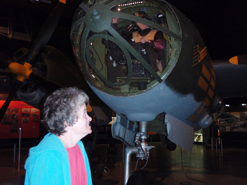 At the Wright Patterson Airforce Museum in Dayton.