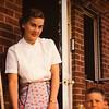 Mom and John, porch Gladwyne home.