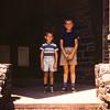 John and Steve at the Gladwyne Grade School.