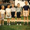 John (left), Steve (tallest) and friends.