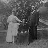 Three generations: Dorethea Spoerhase (Rachel's grandmother), George and Jennie Spoerhase and young Rachel. Rachel is grandmother to MaryLou's generation.