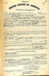George Jacob Naturalization - Petition For Naturalization