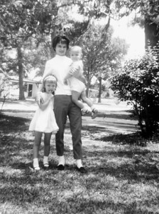 Cherry Lynn Hynes with Sherie and Terry June 1, 1963