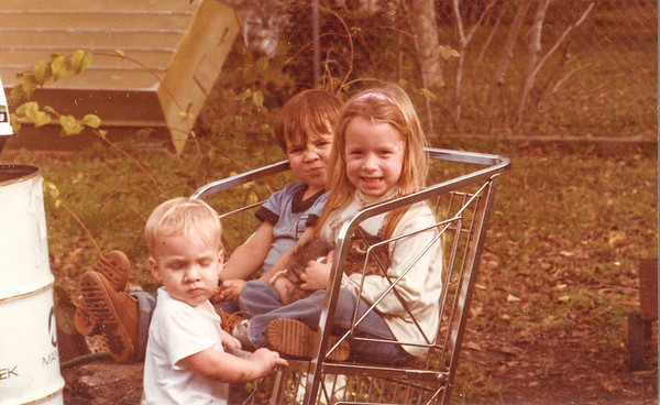 Charlie, Jacob and Jessica Spring Branch 1981