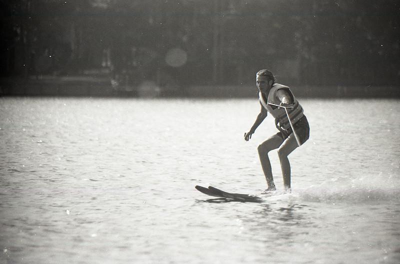 Water Skiing at Lake Somerville