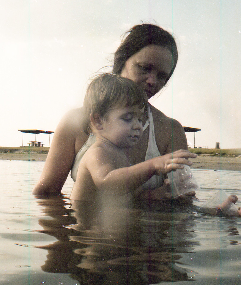 Cherry and Jacob at Lake Somerville