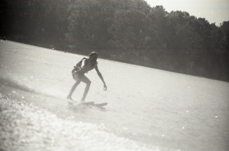 Water Skiing at Lake Somerville