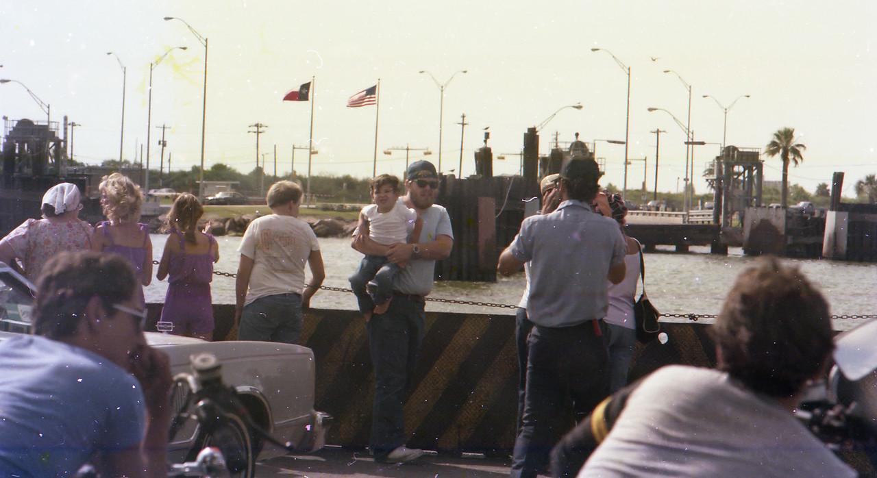 Boliver Ferry circa 1982 Jim holding Jacob