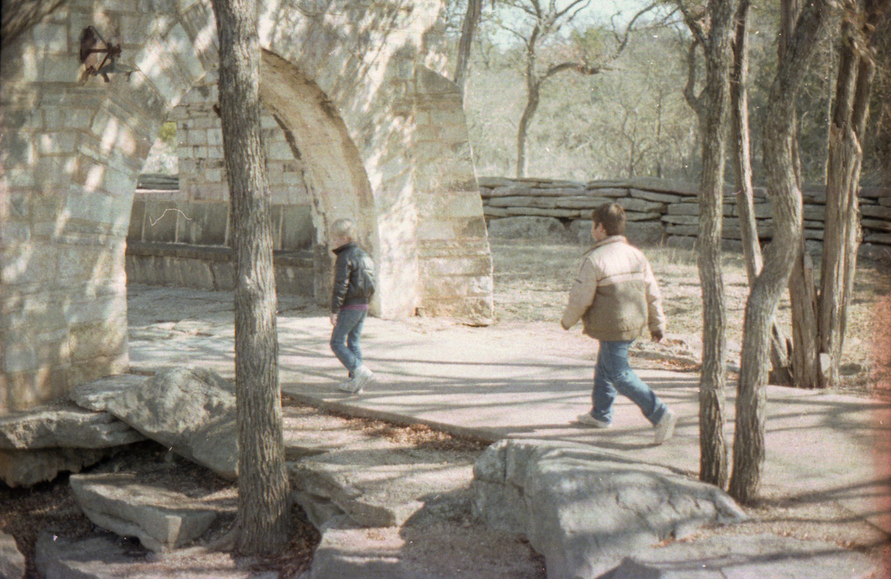 Natural Bridge Cavern San Antonio, Texas December 1989 Charlie and Jacob