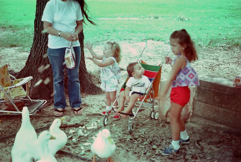 Houston Zoo 1979 Cherry, Jessica, Jacob, Teddy Marie