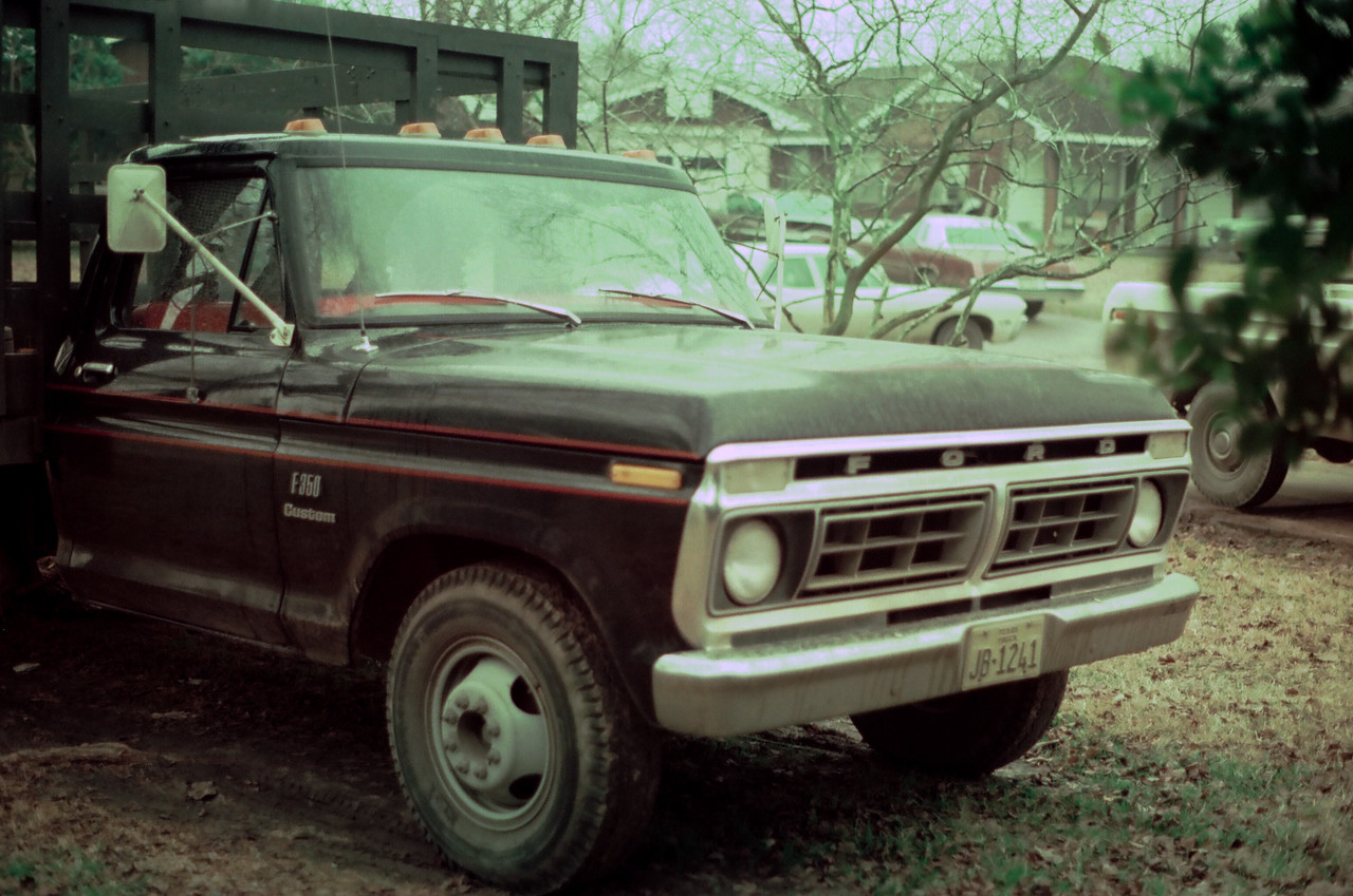 1980 Ford F350, 12' Stake Bed with lift gate