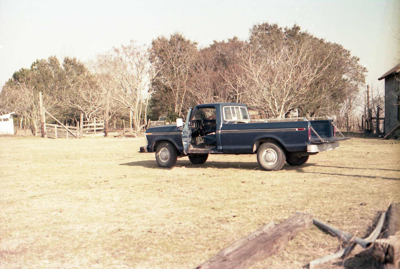 1978 Ford F250, later named the 'nasty truck'