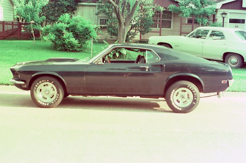 Joe's Mustang