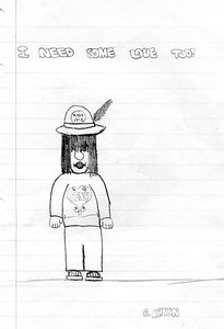 1980's drawing by William 'Billy' Mahan