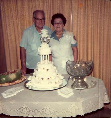 Ed and Fellie Polka wedding anniversary 6-23-78