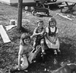 Sue, John, Julie October 1963