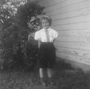 Pat Smock December 1961  2132 Pech Rd. Spring Branch
