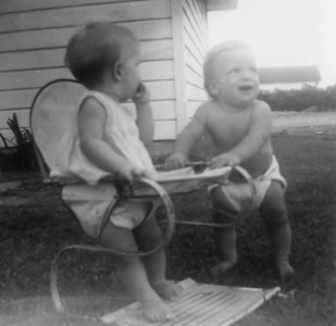 Julie Smock and Patrick Kasper July 1958