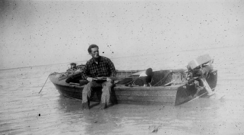 1940's Walter A Rip Smock Hunting and Fishing Photos
