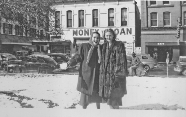 Snow in downtown Houston  January 31, 1949