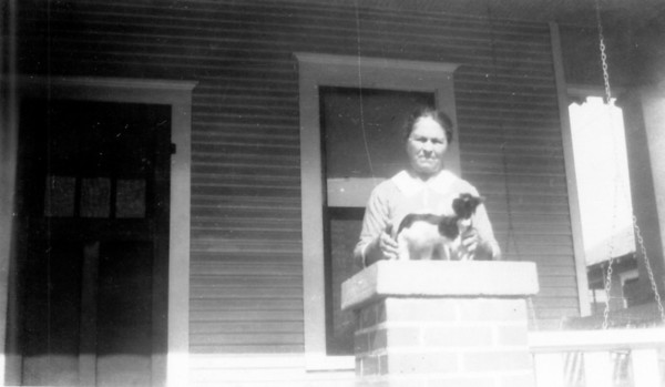 Grandma Anna Maduzia Poilka at her home at 815 McIntosh Street in Houston Texas