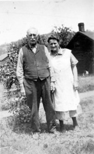 Franklin Benjamin Smock and Katie Lauderbaugh Smock