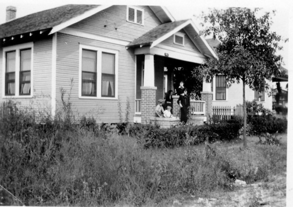 Grandma Anna Maduzia Polka's home at 815 McIntosh Street in Houston Texas