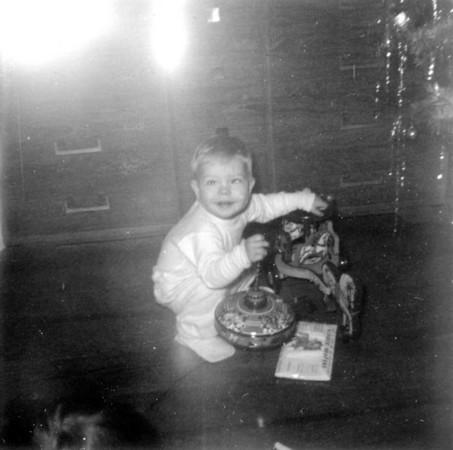 Jimmy Christmas Morn 1953