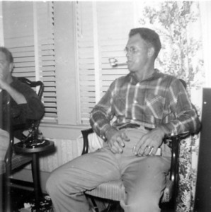 Christmas Day 1953 Uncle Bob Wick