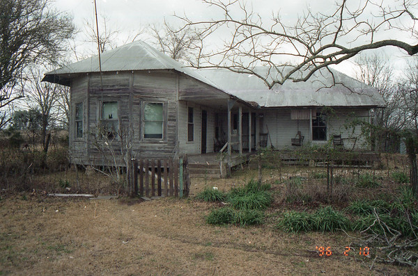 Albert and Anna Polka home New Waverly, Texas 1996 Photo