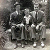 Uncle Ralph, Dad, Uncle Carl<br /> May 1942