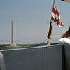 Dad on the USS Texas bridge