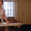 ironing in the apartment.   Remember when people ironed?