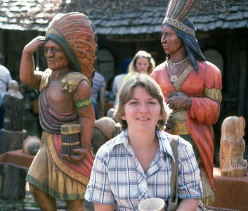 Bev at the Ren Faire.  I used to think it was Nov 80, but may be Nov 79