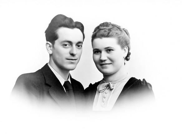 Mes parents Francis et Germaine Richard