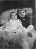 Our Grandpa Hunsberger, Earl Hunsberger Jr., with younger brother Harold (circa 1922) (i love this photo, & in it I see so much resemblance between Grandpa & my nephew Xavier.)